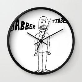 Jibber Jabber Wall Clock