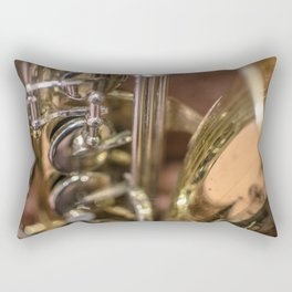 Saxophone detail Rectangular Pillow