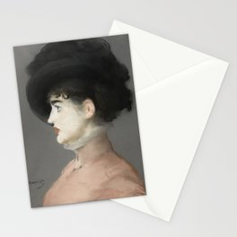 Irma Brunner by Edouard Manet Stationery Cards