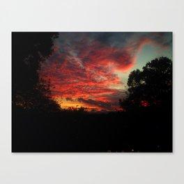 Asheville Sunset Canvas Print