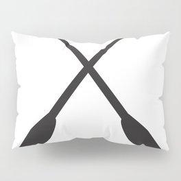 Canoe Paddles Pillow Sham