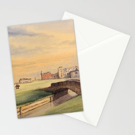 St Andrews Golf Course Scotland 18th Hole Stationery Cards