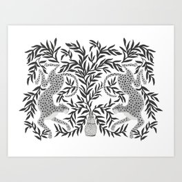 Jaguar Dance Art Print