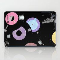 records iPad Cases featuring Records by Whitney Retter