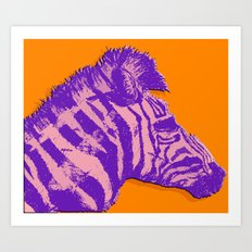 Wear Your Stripes Proudly #2 Art Print