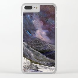 Northern Mountain Clear iPhone Case