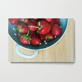 Freshest Berries Metal Print