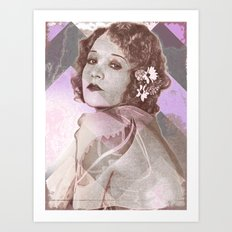 Betty Compson Eyes Art Print