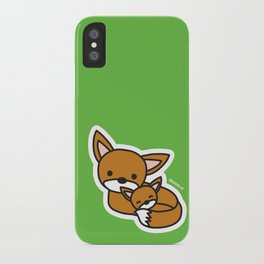 Sweet Fox iPhone Case