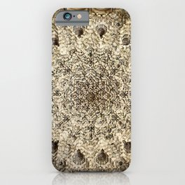 Two sisters Room roof. The Alhambra palace. iPhone Case