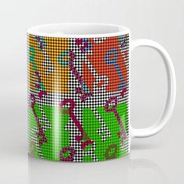 Colorful Key pattern Coffee Mug