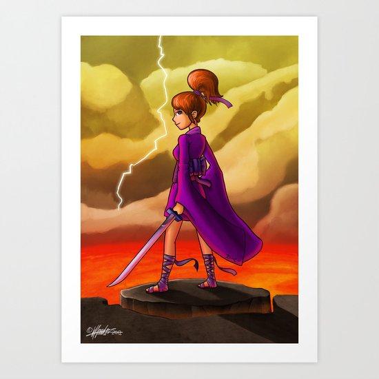 Venus Princess Art Print