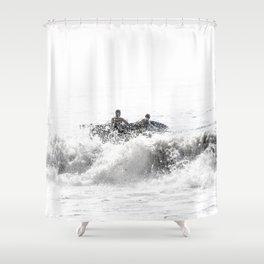 In The Brine Shower Curtain