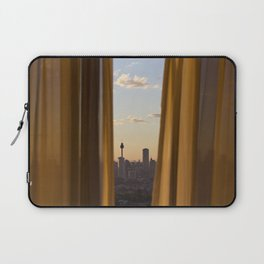 Sneaky City Sunset Laptop Sleeve
