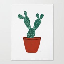 Cactus No. 1 Canvas Print