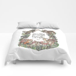 Happy Every Day! Comforters