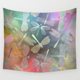 Dragonfly Dance Wall Tapestry