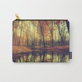 Autumn in the forest Carry-All Pouch
