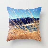 colorado Throw Pillows featuring Colorado by Fletchern