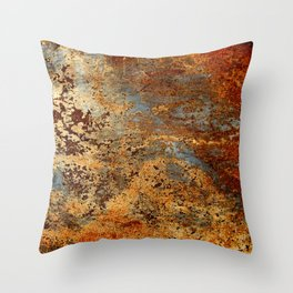 Beautiful Rust Throw Pillow