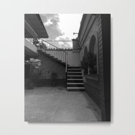 patio Metal Print