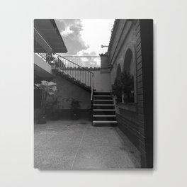 patio Metal Print