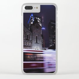 Movement in the City Clear iPhone Case