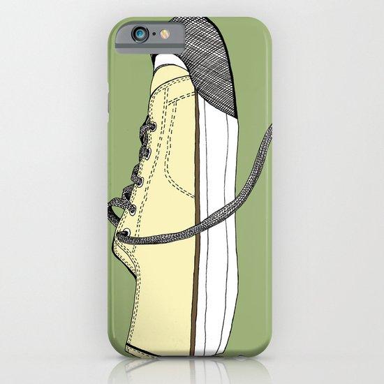 Sneaker in profile iPhone & iPod Case