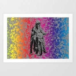 Poli' Art Print