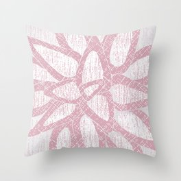 brom red Throw Pillow