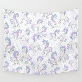 Unicorn Sparkles Wall Tapestry