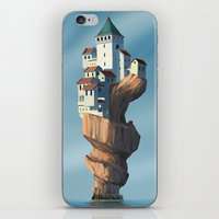 uncharted iPhone & iPod Skins featuring Auger City by cgoz