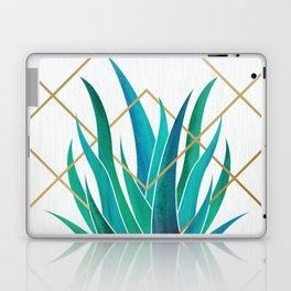 Modern Succulent - metallic accents Laptop & iPad Skin