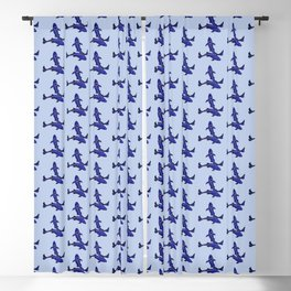 Astrological sign pisces constellation Blackout Curtain
