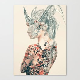 Worming Portrait Canvas Print