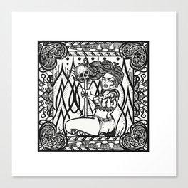 SEVEN: Wrath Canvas Print