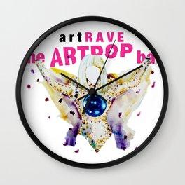 ARTPOP artRAVE Wall Clock