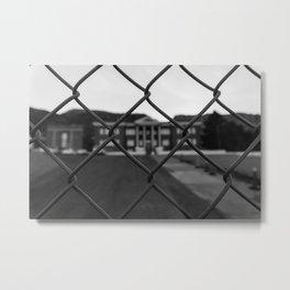Old Superior High School Metal Print