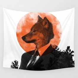 The real Wolf of Wall Street Wall Tapestry