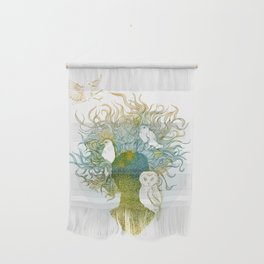 Spring birds Wall Hanging