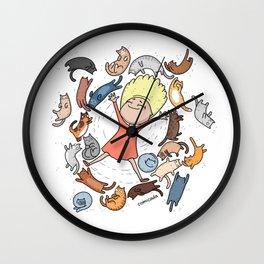 cat lover Wall Clock