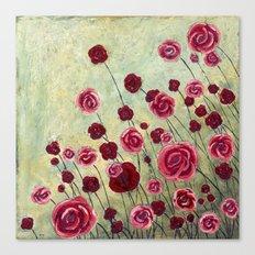 Stonewashed Garden Canvas Print