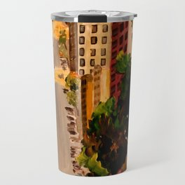 San Francisco Van Ness Cable Car Travel Mug