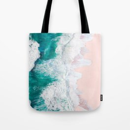 Pink Sand Beach Tote Bag