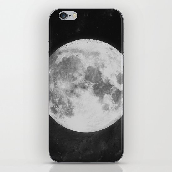 The Moon iPhone Skin