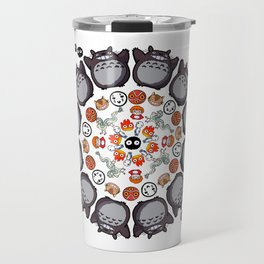 STUDIO GHIBLI MANDALA Travel Mug