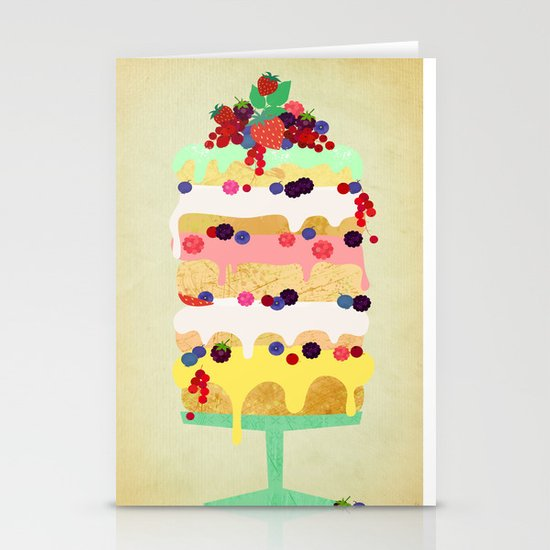 Fairy Cake Stationery Cards