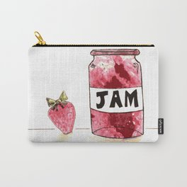 Strawberry VS Jam Carry-All Pouch