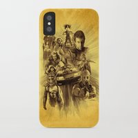 mad max iPhone & iPod Cases featuring Homage to Mad Max by Giorgio Finamore