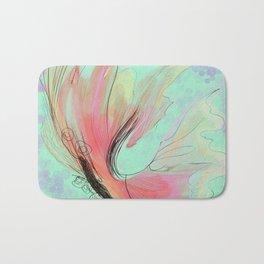 Translucent butterfly Bath Mat